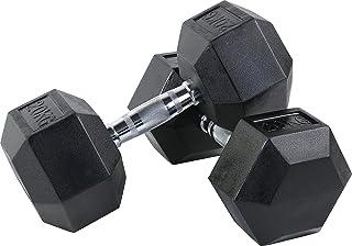 FitElite(フィットエリート) HEXダンベル(ヘックスダンベル)5kg 7.5kg 10kg 12.5kg 15kg 20kg(2個セット)【ソフトな素材で、室内でのご利用に最適】