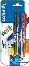 Pilot Frixion - Rotulador de bola con tinta borrable (3 unidades), varios , color es