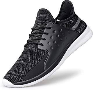 SILLENORTH Mens Sneakers Slip Resistant Shoes Non Slip Shoes Gym Workout Shoes