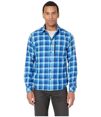Helly Hansen Lokka Long Sleeve Shirt (Catalina Blue Plaid) Men