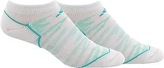 adidas Women's Superlite Speed Mesh No Show Socks (2 Pack)