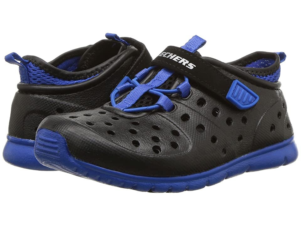 SKECHERS KIDS Hydrozooms (Toddler) (Black/Royal) Boy
