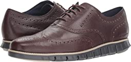 Zerogrand Wingtip Oxford Leather