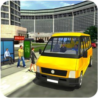 Real Minibus Drive sim 2019 : Free For Kids Minibus Public Transport coach wash hill tourist auto bus sim drive taxi rush ...