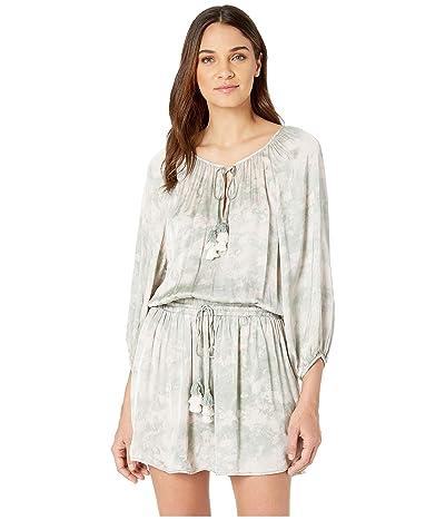 Young Fabulous & Broke Junia Dress (Light Palm Micro Wash) Women