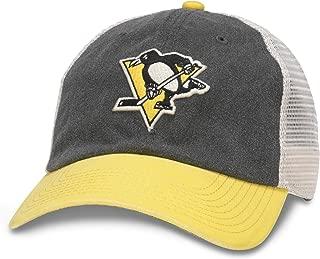 American Needle NHL Hanover Logo Mesh Adjustable Strapback Trucker Hat