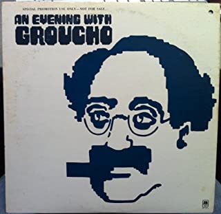 GROUCHO MARX AN EVENING WITH vinyl record