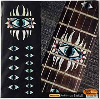 Emblem 12th Fret Markers Set In Abalone Theme Inlay Sticker Decal For Guitar For Guitar -