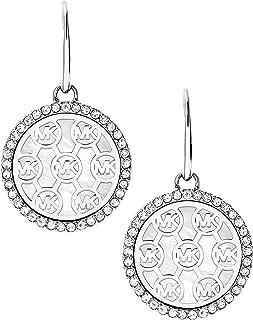 Michael Kors Logo Drop Earrings