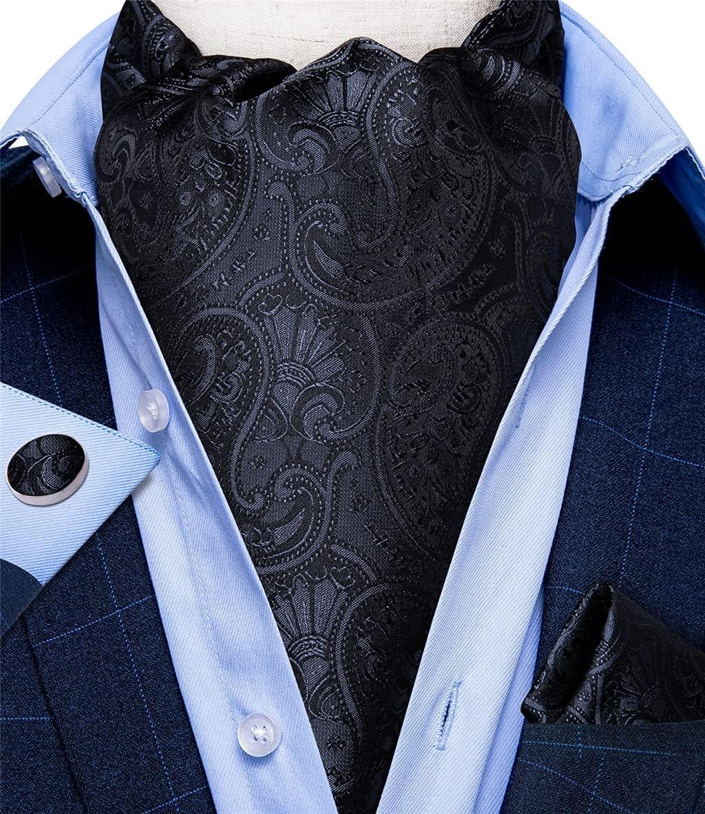CFSNCM Men Vintage Blue Red Green Plaid Wedding Formal Cravat British Style Gentleman Silk Necktie (Color : 6, Size : One size)