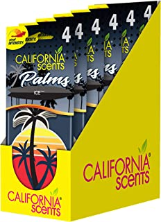 California Scents Hanging Palms Air Freshener, Ice, 24 Count