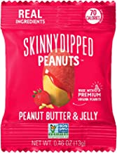 SkinnyDipped Peanut Butter & Jelly Peanuts, 0.46oz, 24 Count