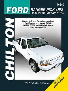 Chilton's Ford Ranger Pick-Ups 2000-2008 Repair Manual (Chilton's Total Car Care)