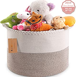 Best woven storage baskets with handles Reviews