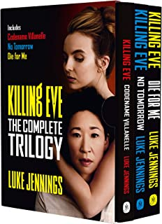 Killing Eve The Complete Trilogy Series 3 Books Collection Box Set by Luke Jennings (Die For Me, No Tomorrow & Codename Vi...