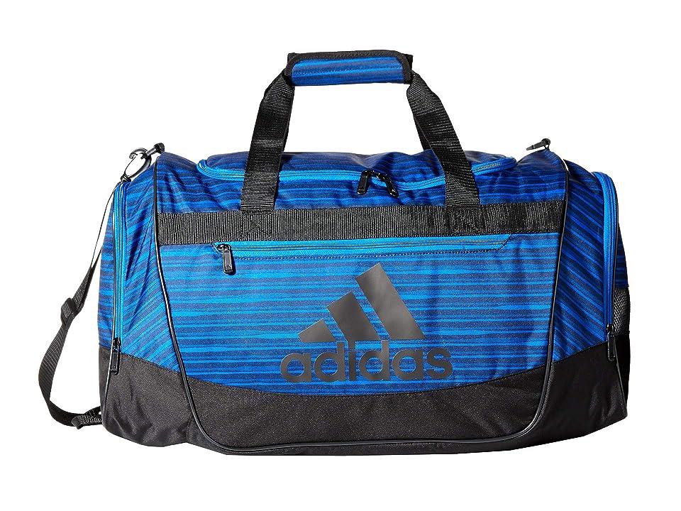adidas Defender III Medium Duffel (Collegiate Navy Andreas/Black/Blue) Bags