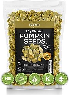 Sponsored Ad - Dry Roasted Pumpkin Seeds Sea Salted, 2 lbs (Papitas) No Oils | No PPO | Non GMO | Vegan and Keto Friendly ...