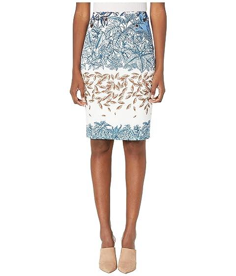 YIGAL AZROUËL Printed Scuba Skirt