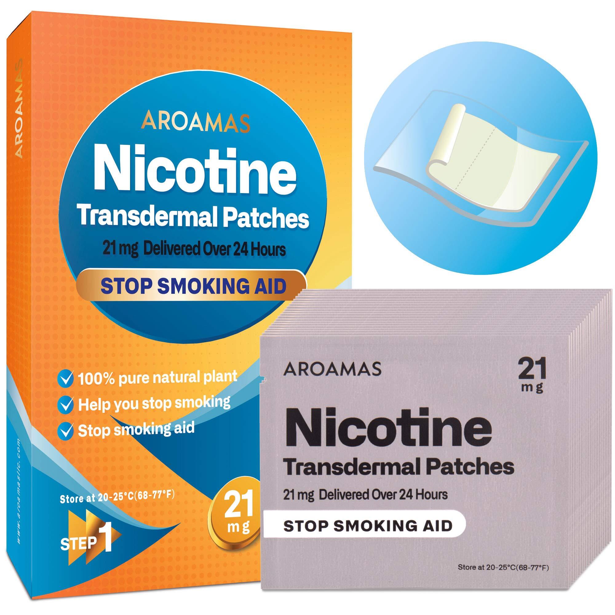 Aroamas Nicotine Patches Smoking Transdermal