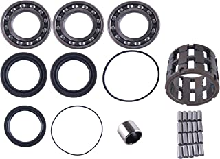East Lake Axle front differential bearing & seal kit w/sprague cage compatible with Polaris Ranger/Sportsman 300/400 /500/700 / 800 2006 2007 2008 2009 2010 2011 2012 2013 2014