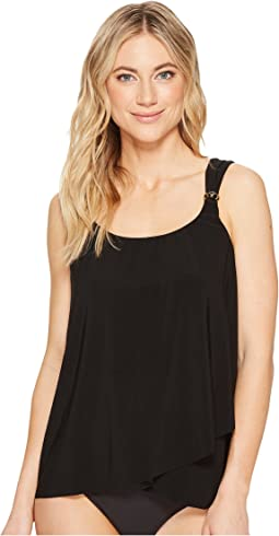 Four Tops Dazzle Tankini Top