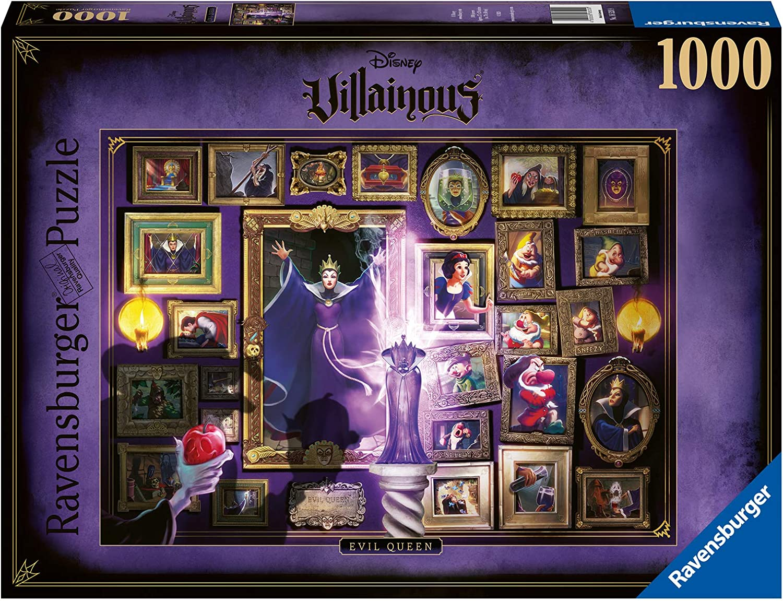 RavensburgerDisney Villainous: Evil Free shipping Ranking TOP20 New Queen Jigsaw Piece 1000