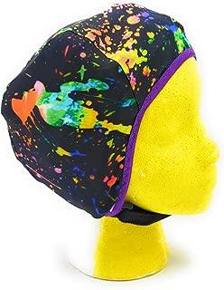 Wrestling Hair Cap - Over The Headgear Style - Paint Splatter - New in 2019!