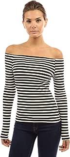 Women Off Shoulder Long Sleeve Top