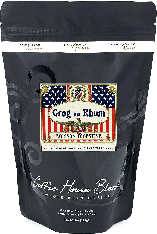 Grog AU Rhum Boisson Digestivo etiqueta de Ron: Amazon.es ...