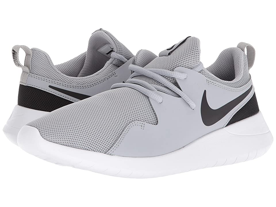 Nike Kids Tessen (Big Kid) (Wolf Grey/Black/White) Boys Shoes