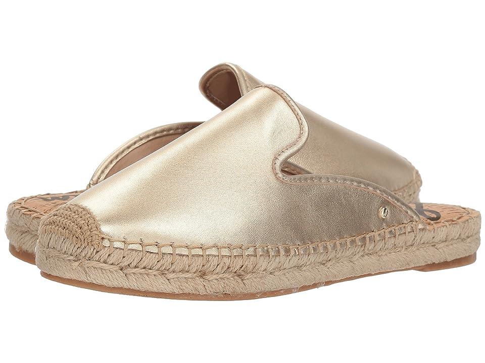 Sam Edelman Kerry (Molten Gold Soft Metallic Sheep Leather) Women