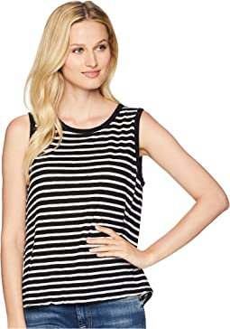 Saguaro Stripe Tie-Back Tank Top
