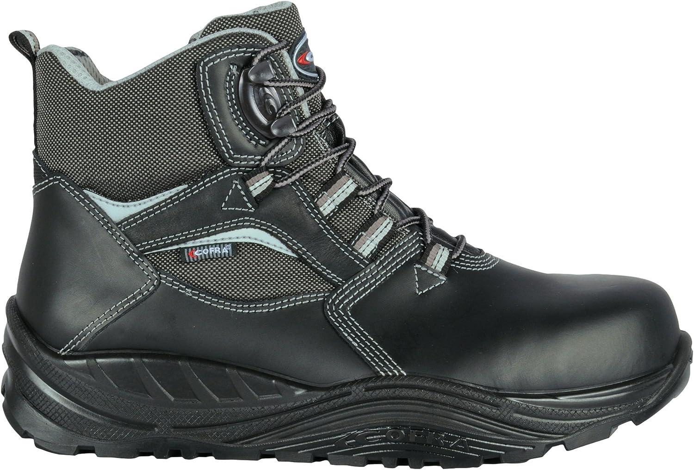 Cofra 55170-000.W48 Size 48 S3 CI SRC Bolster  Safety shoes - Black