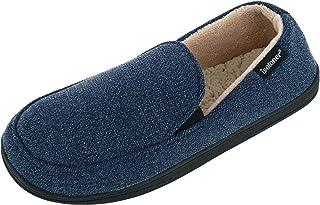 حذاء رجالي من ISOTONER مصنوع من نسيج منقط من الخلف