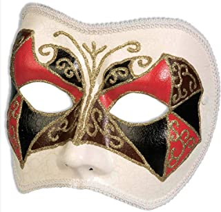 harlequin face mask
