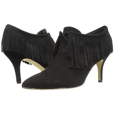 Bella-Vita Diem (Black Kid Suede Leather) High Heels