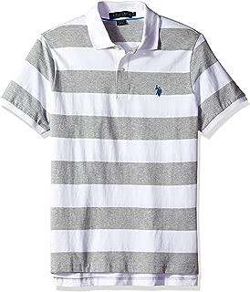 Men's Wide Stripe Polo Shirt