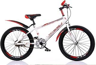 YFNIAO Youth Mountain Bike 18 Inch, Red