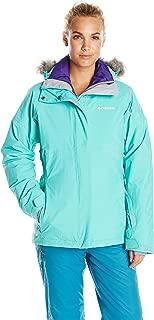 Columbia Women's Shimmerlicious Down Interchange Jacket, Oceanic, Medium