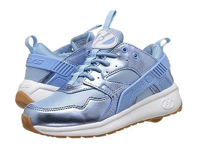 Heelys Force (Little Kid/Big Kid/Adult) (Light Blue/Metallic) Girls Shoes