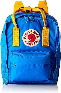 Fjallraven Unisex Kanken Mini Backpack, UN Blue, Warm Yellow, OS