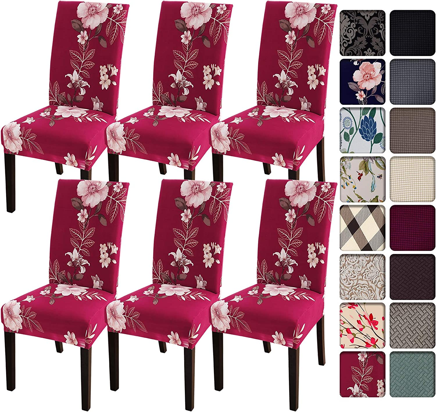 SearchI Max 64% OFF Dining Today's only Room Chair Covers Slipcovers Spandex 6 Su of Set