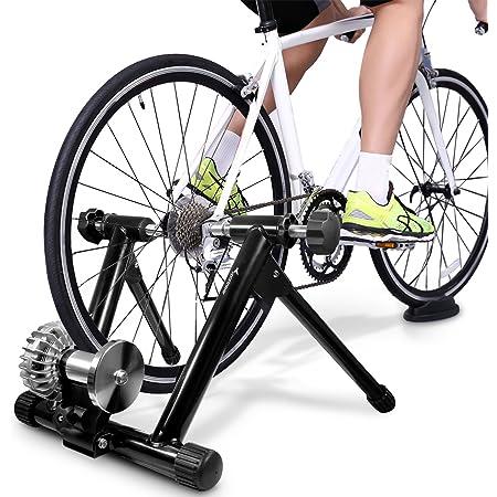 Sportneer Bicycle Roller Trainer Fluid Bike Trainer Stand Indoor Bicycle Exercise Stand Sport Freizeit