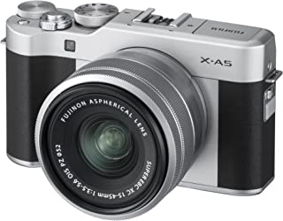 Fuji X-A5 Mirrorless Digital Camera w/XC15-45mmF3.5-5.6 OIS PZ Lens (Silver)