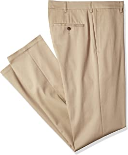 Haggar Men's Tall Size Premium No Iron Straight Fit Flat Front Pant