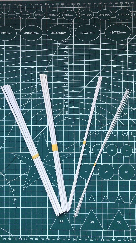 SSMODELKIT ABS Plastic Rod 0.5mm*250mm Length FOR DIY Sand Table ...