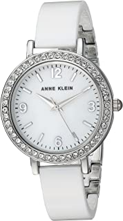 Anne Klein Women's  Metal and Ceramic Dress Watch
