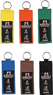 DanRho Schlüsselanhänger Kyu Grade Judo gelb