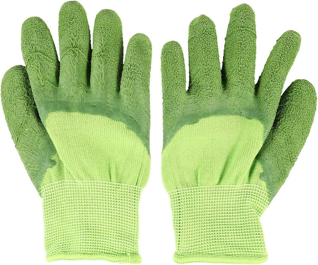 Abaodam Children Sales results gift No. 1 Gardening Gloves Wear-Resi Catching Crab