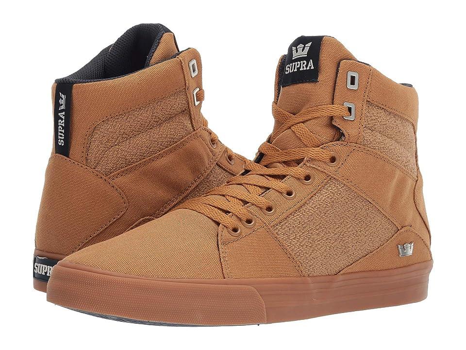43716f408c13 Supra Aluminum (Tan Gum) Men s Skate Shoes